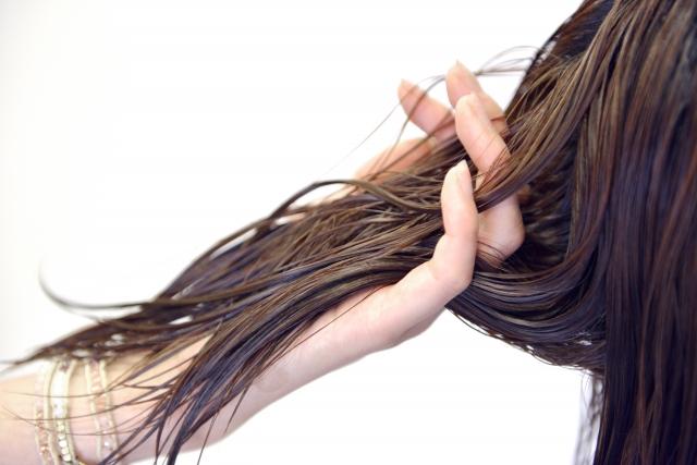 綺麗な髪の画像