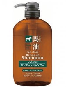 熊野油脂・馬油リンスインシャンプーの画像